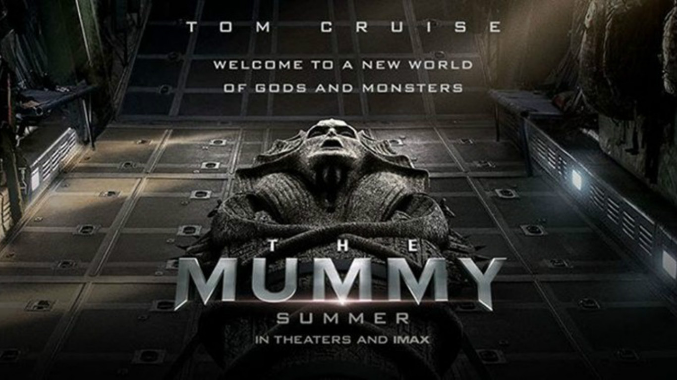 The Mummy promo poster
